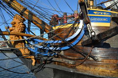 Historic sail ship Gotheborg Stock Photo