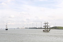 Historic sailing boats Royalty Free Stock Photos