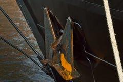 Historic sailing ship in Hamburg port Royalty Free Stock Image