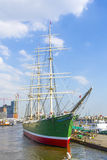 Historic sailor Rickmer Rickmers serves as museum ship Royalty Free Stock Photography