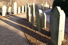 Historic Sailor Tombstones Stock Photo