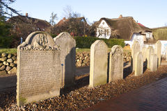 Historic Sailor Tombstones Stock Photography