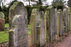 Historic Sailor Tombstones on Amrum Stock Images