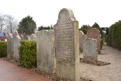 Historic Sailor Tombstones on Amrum Royalty Free Stock Image