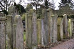 Historic Sailor Tombstones on Amrum Royalty Free Stock Photos