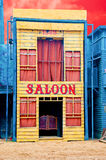 The Historic Saloon close-up Royalty Free Stock Photography