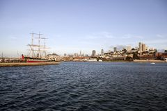 Historic San Francisco Bay Stock Images