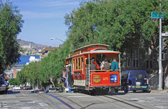 Historic San Francisco Cable Car Stock Photography