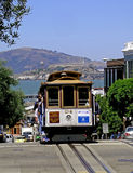 Historic San Francisco Cable Car Royalty Free Stock Photography