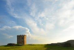 Historic sandstone tower, Sydney, Australia Royalty Free Stock Photos