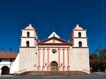 The historic Santa Barbara Spanish Mission in California Royalty Free Stock Photos