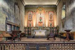 The historic Santa Barbara Spanish Mission in California. USA Stock Image
