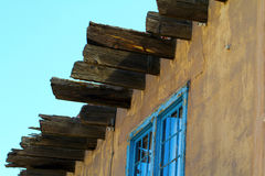 Historic Santa Fe building Stock Photography