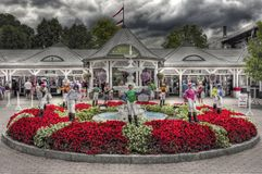 Historic Saratoga Racecourse royalty free stock images
