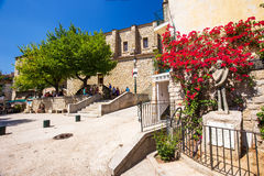 Historic Sartene town, Corsica, France, Europe. Royalty Free Stock Photos