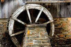 Historic sawmill. Old historic sawmill on manitoulin island Stock Photo