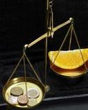 Historic scales Stock Photo