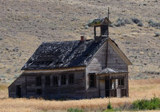 Historic school. This school is called 8 mile school it is located in northern Oregon Stock Photography