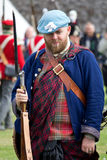 Historic Scottish Scottish soldier Stock Images