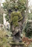 Historic Sculpture from the mystery old Prague Cemetery, Czech Republic. Historic Sculpture from mystery old Prague Cemetery, Czech Republic Stock Photos