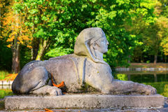 Historic sculpture at Nordkirchen Castle, Germany Royalty Free Stock Photos