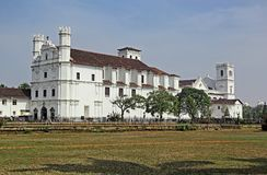 Se Cathedral Complex in Old Goa Royalty Free Stock Photos