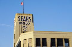 The historic Sears Roebuck building in Hackensack, NJ Stock Photography