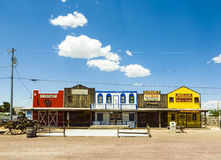 The Historic Seligman depot on Route 66 Royalty Free Stock Images