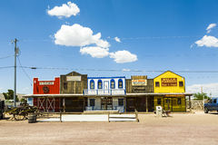 The Historic Seligman depot on Royalty Free Stock Photo
