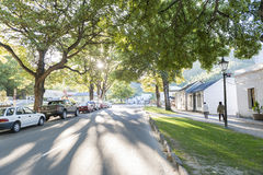 Historic settlement of Arrowtown, New Zealand. Arrowtown, New Zealand - February 2016: Historic settlement of Arrowtown Stock Image