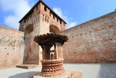 Historic Sforza Castle Royalty Free Stock Photo
