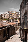 Historic sicilian architecture Stock Photos