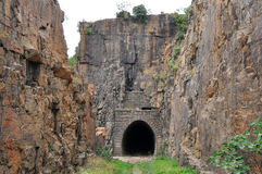 Historic sight NZASM tunnel,South Africa Stock Photos