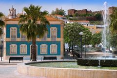 Historic Silves Square Stock Photography