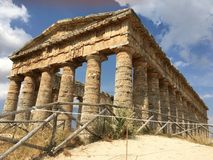 Historic Site, Ancient History, Ancient Greek Temple, Archaeological Site Royalty Free Stock Photo