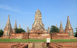 Historic site in Ayutthaya,Thailand Stock Photo