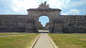 Historic Site, Landmark, Archaeological Site, Wall stock photo
