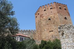 Historic Site, Medieval Architecture, Castle, Sky royalty free stock images