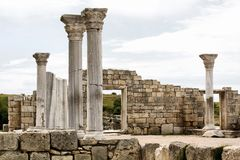 Historic Site, Ruins, Ancient Roman Architecture, Archaeological Site Stock Photography