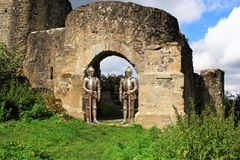 Historic Site, Ruins, Archaeological Site, Ancient History stock photography