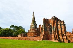 Historic site of thailand Royalty Free Stock Photos