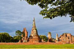 Historic site of thailand Royalty Free Stock Image