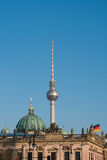 Historic skyline and tv Tower - Berlin , Germany Stock Images