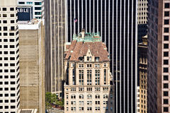 Historic Skyscraper in San Francisco Downtown Royalty Free Stock Photo