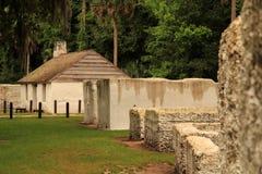 Historic Slave Quarters stock images