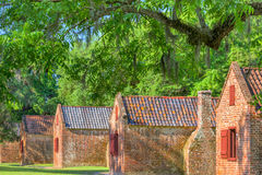 Historic Slave Quarters Royalty Free Stock Photography