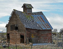 Historic Small Barn Royalty Free Stock Images