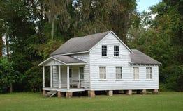 Historic South Carolinian Home. A Gullah plantation house on the Sea Islands of South Carolina Royalty Free Stock Photo
