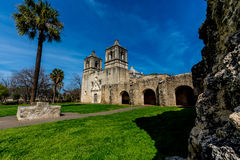 The Historic Spanish Mission Concepcion Royalty Free Stock Photo