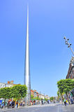 The historic Spire of Dublin Stock Photo